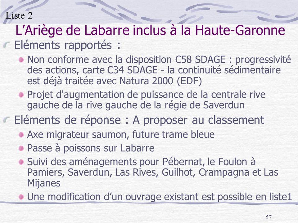L'Ariège de Labarre inclus à la Haute-Garonne