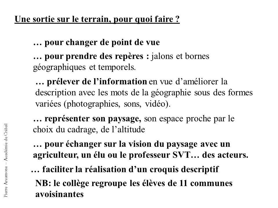 Pierre Arcamone – Académie de Créteil