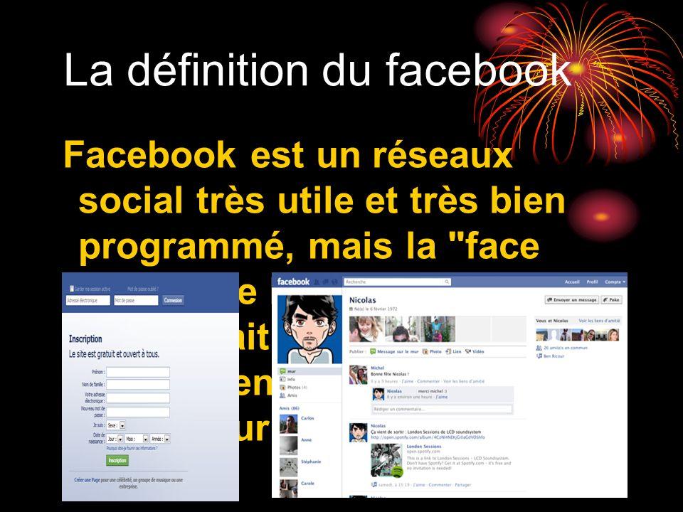 La définition du facebook