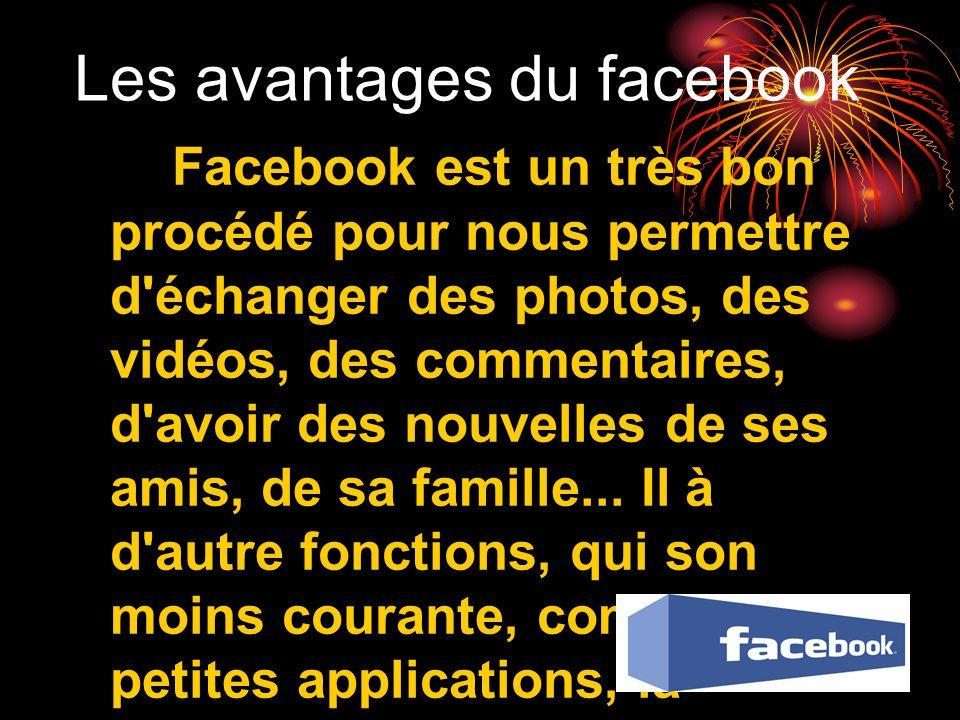 Les avantages du facebook