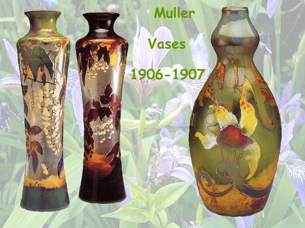 Muller Vases 1906-1907 27