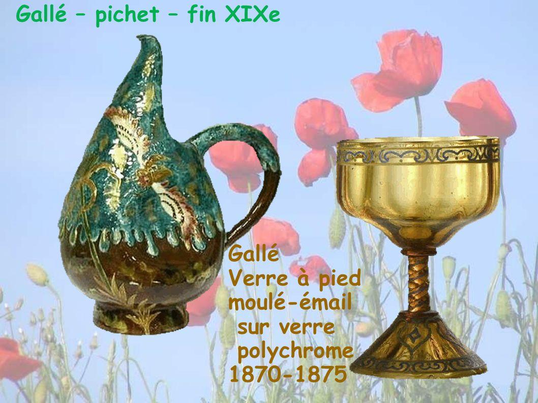 Gallé – pichet – fin XIXe