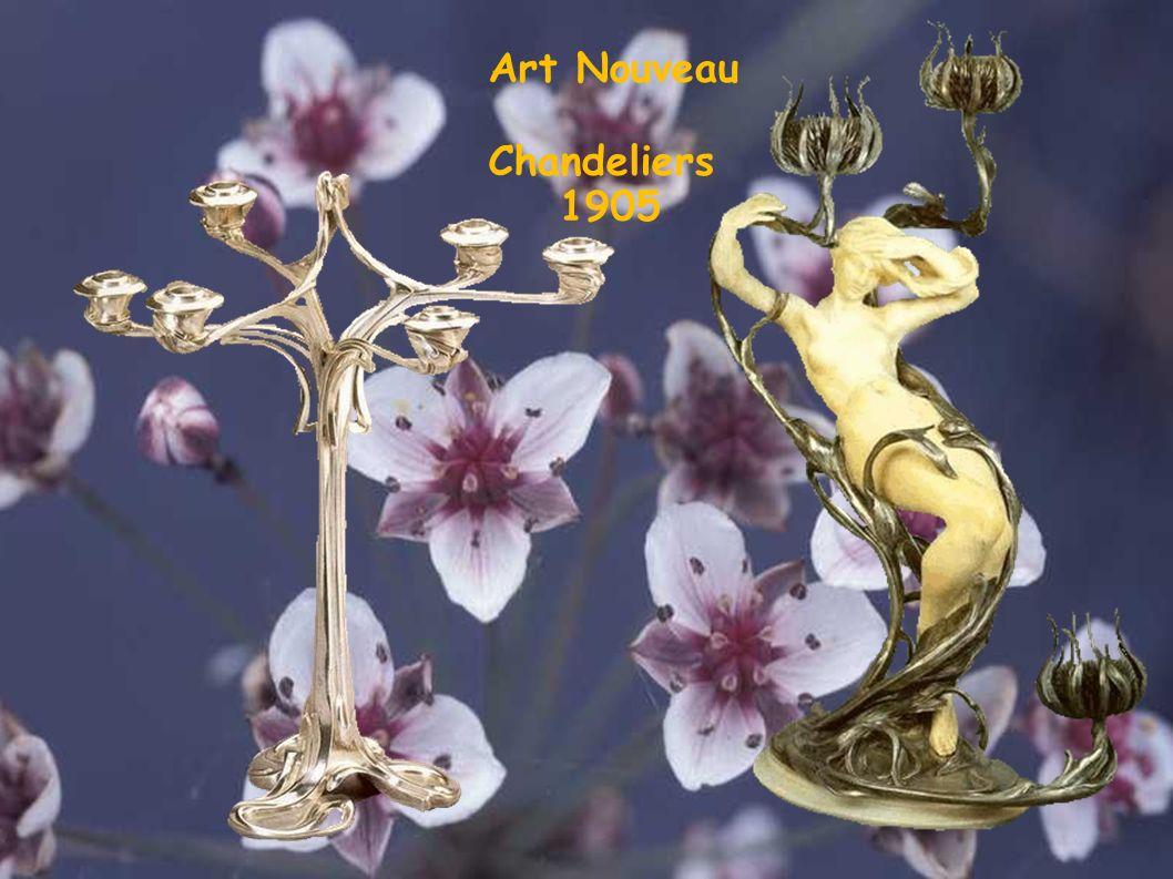 Art Nouveau Chandeliers 1905