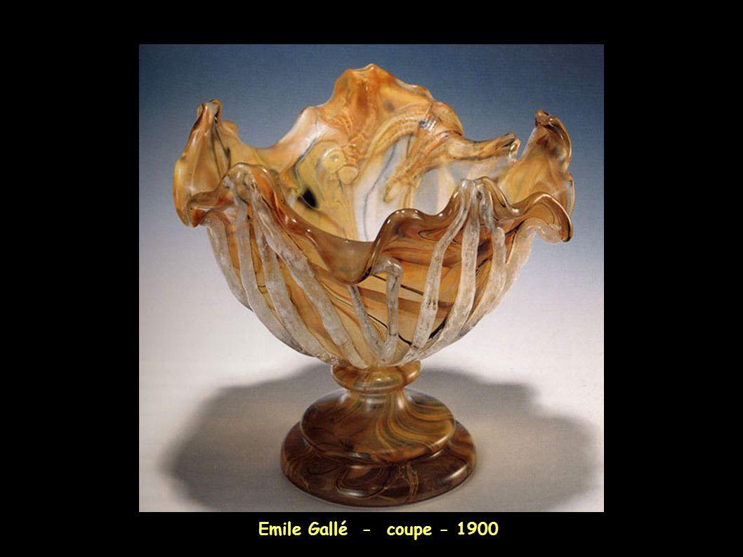 Emile Gallé - coupe - 1900 8
