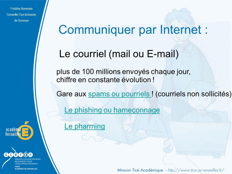 Communiquer par Internet :