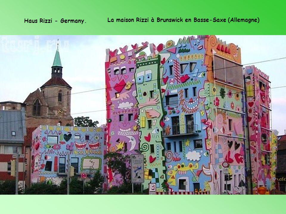 Haus Rizzi - Germany. La maison Rizzi à Brunswick en Basse-Saxe (Allemagne)