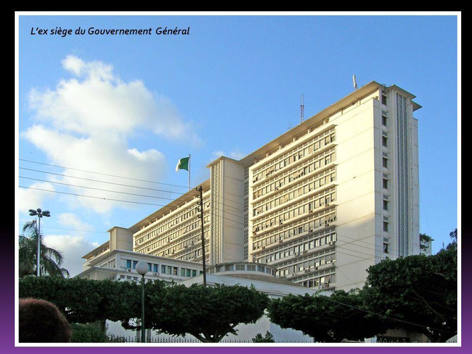 L'ex siège du Gouvernement Général