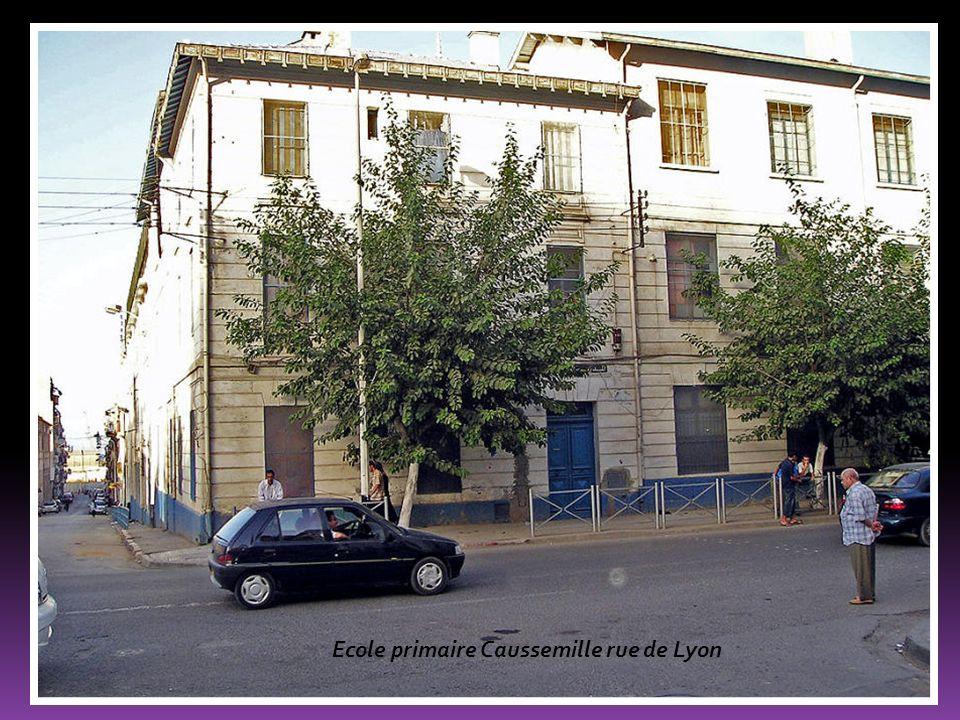 Ecole primaire Caussemille rue de Lyon