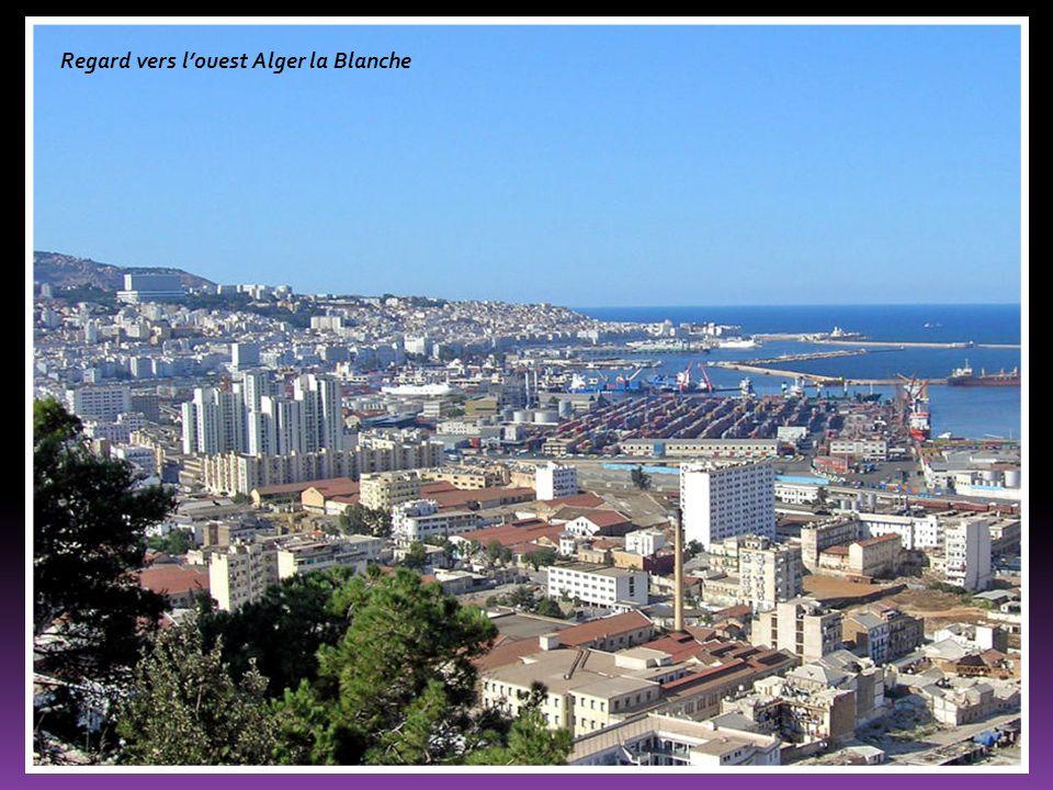 Regard vers l'ouest Alger la Blanche