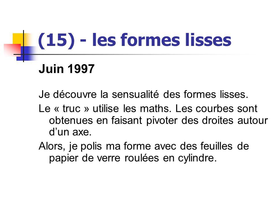 (15) - les formes lisses Juin 1997