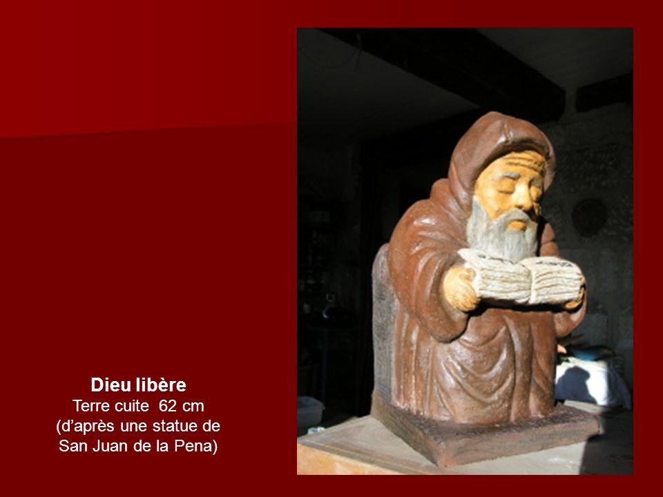 (d'après une statue de San Juan de la Pena)