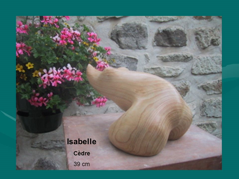 Isabelle Cèdre 39 cm