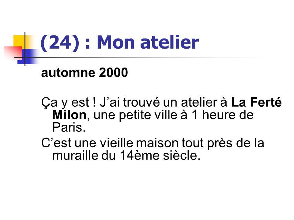 (24) : Mon atelier automne 2000