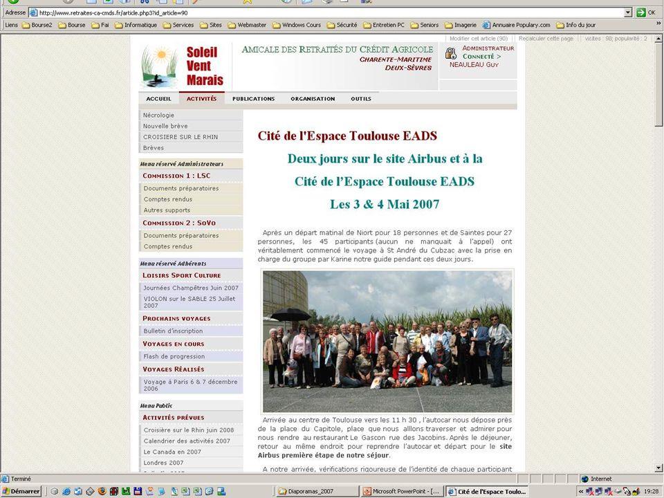 Créer son site web - Club Informatique Saintongeais
