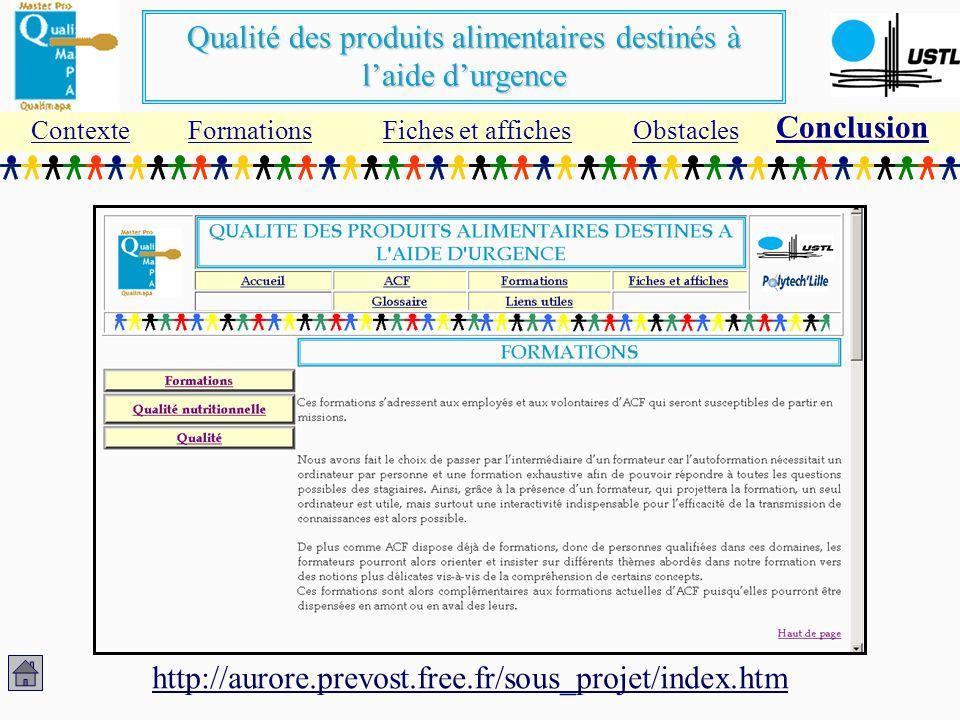 Conclusion http://aurore.prevost.free.fr/sous_projet/index.htm