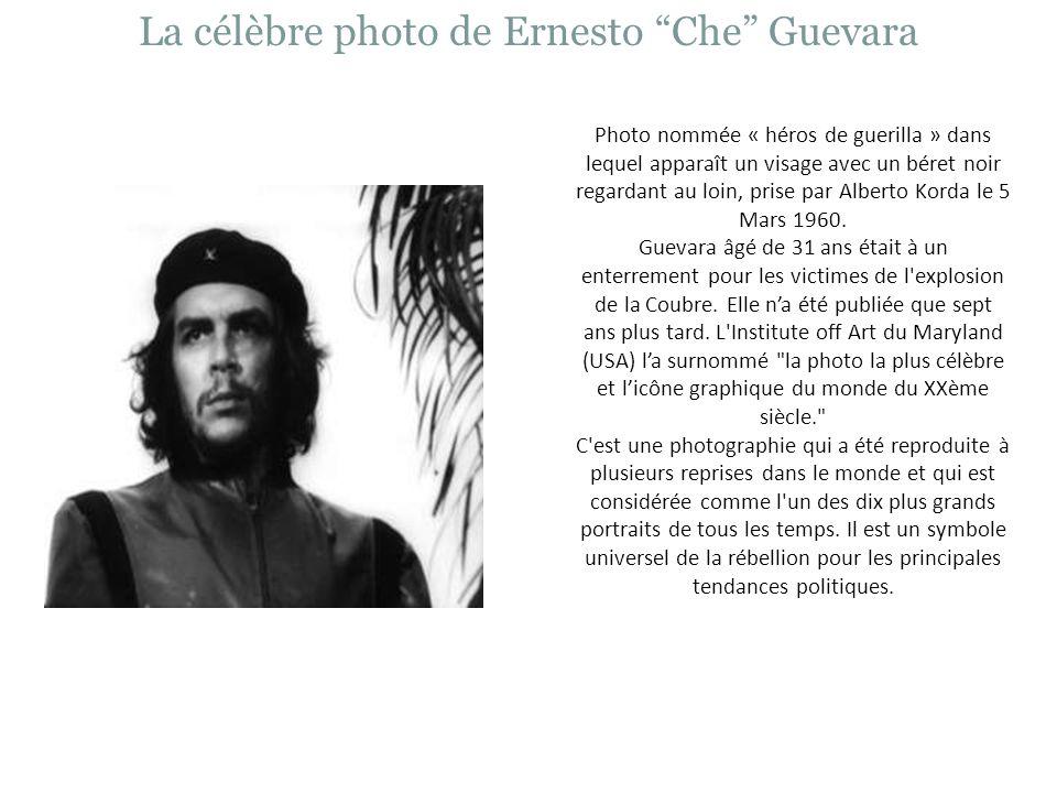 La célèbre photo de Ernesto Che Guevara