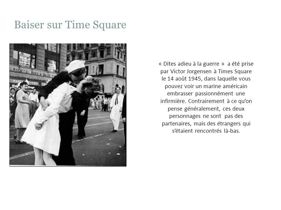 Baiser sur Time Square