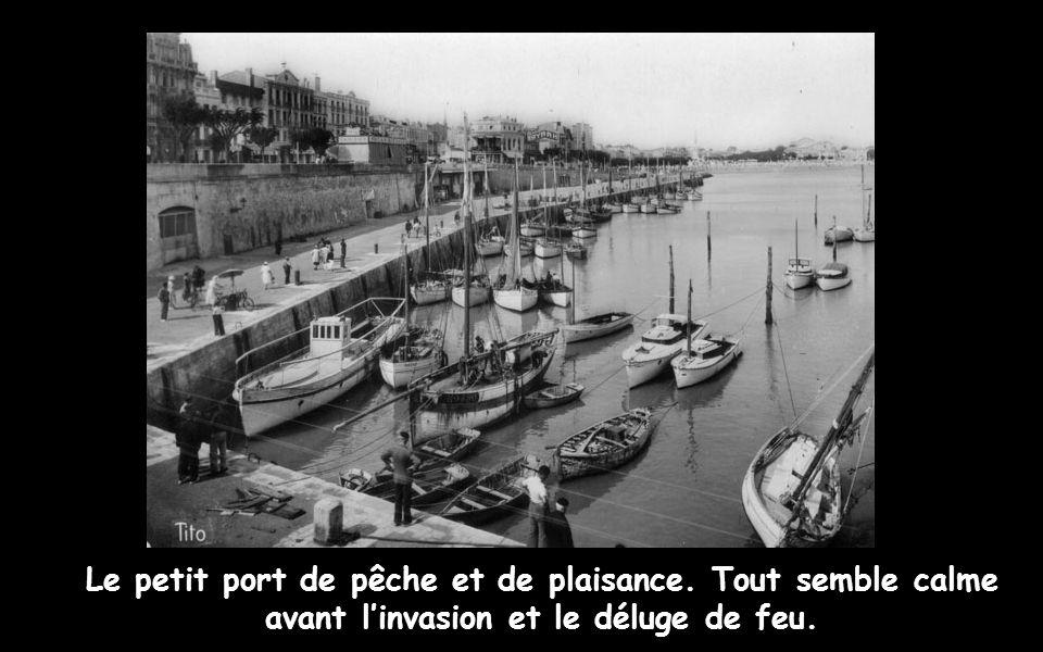Le petit port de pêche et de plaisance