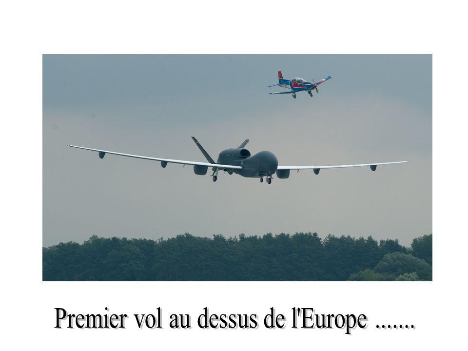 Premier vol au dessus de l Europe .......