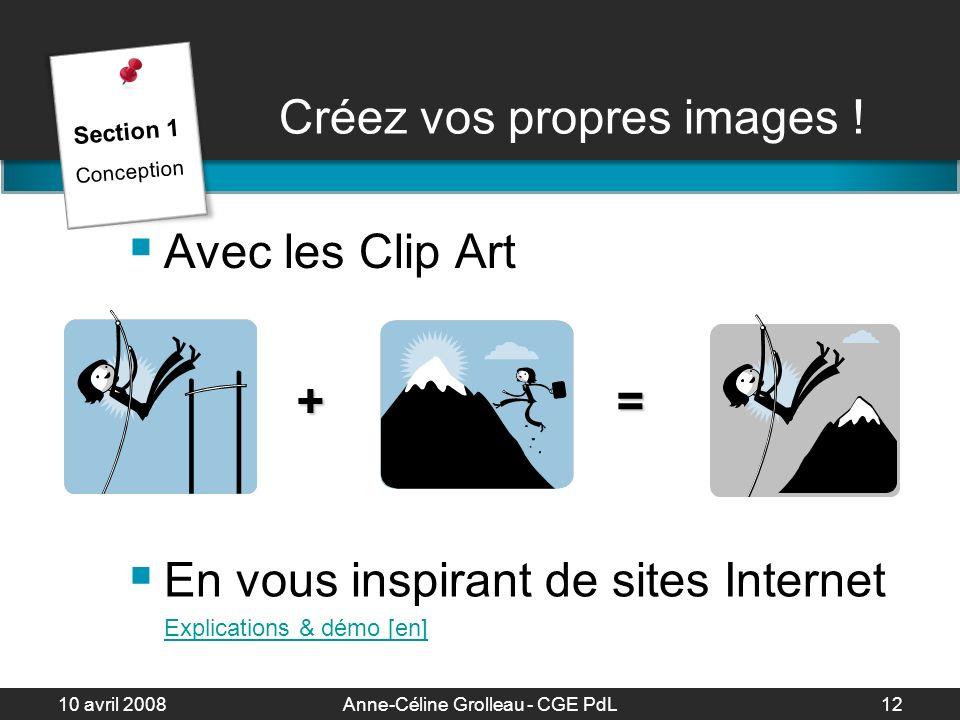 Créez vos propres images !
