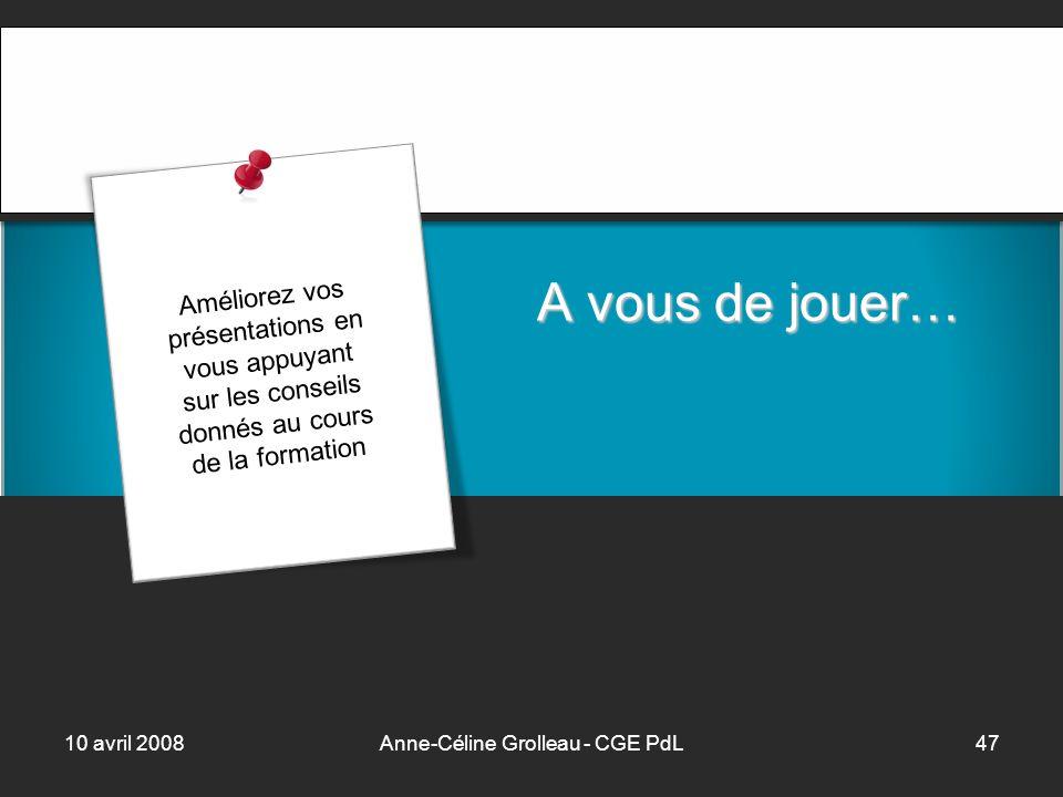 Anne-Céline Grolleau - CGE PdL