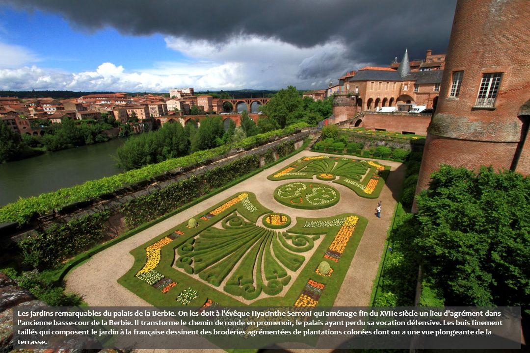 Les jardins remarquables du palais de la Berbie