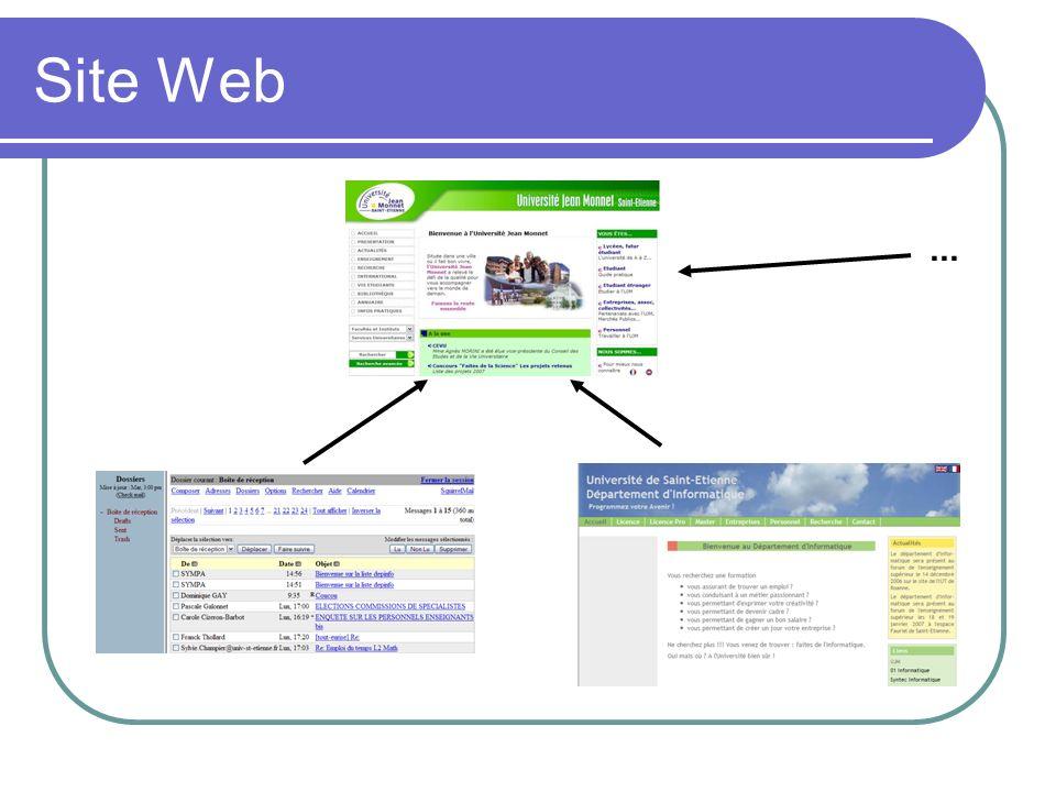 Site Web ...