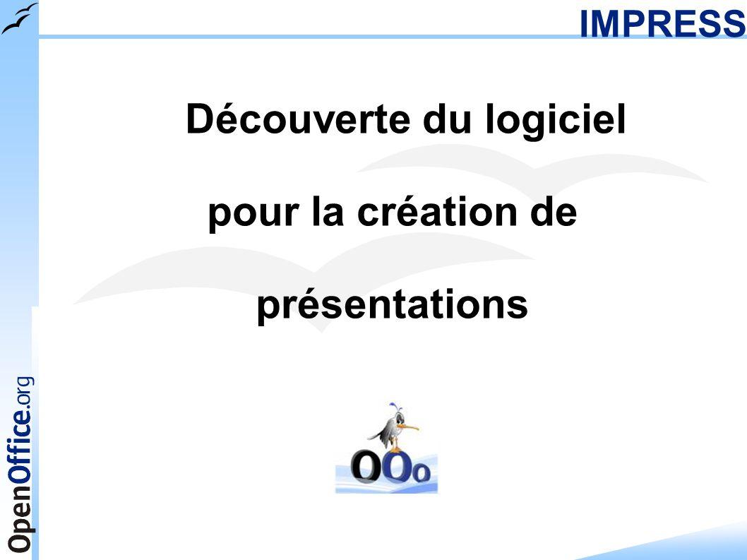 pour la création de présentations