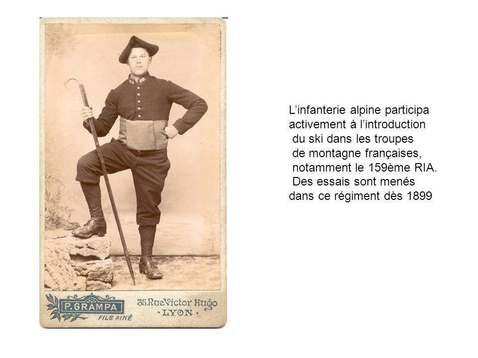 L'infanterie alpine participa