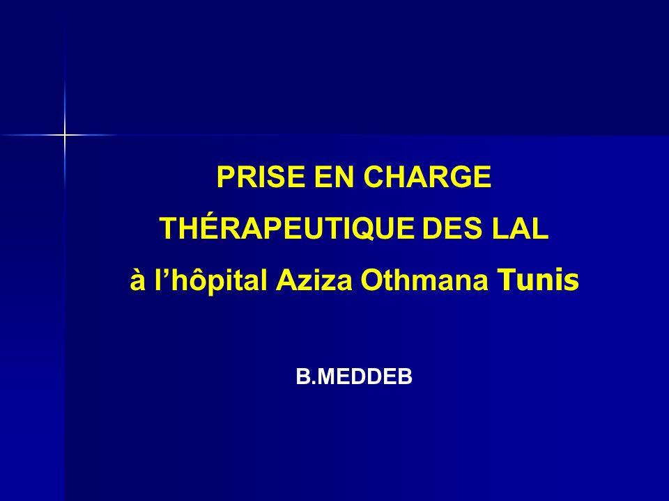 à l'hôpital Aziza Othmana Tunis