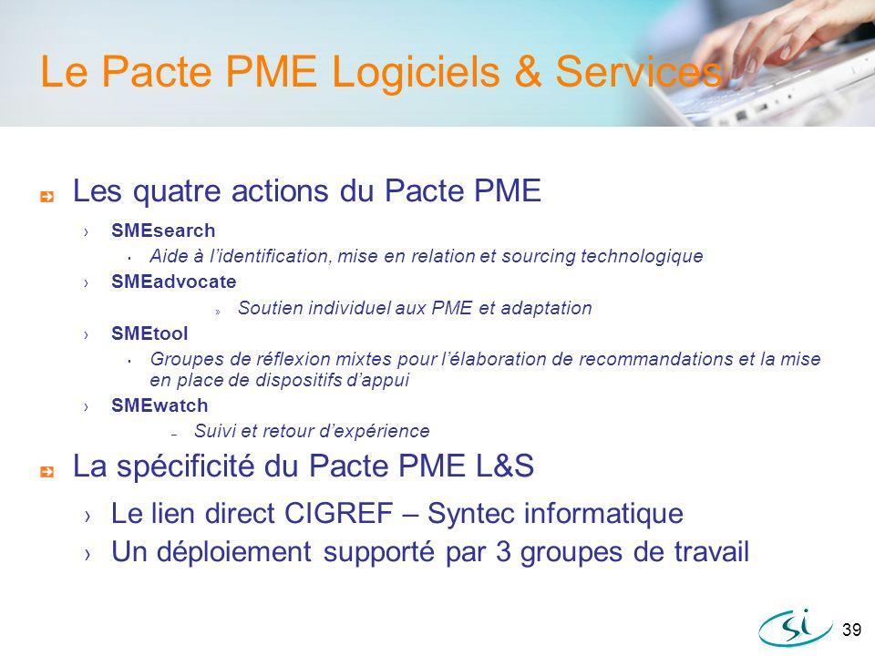 Le Pacte PME Logiciels & Services