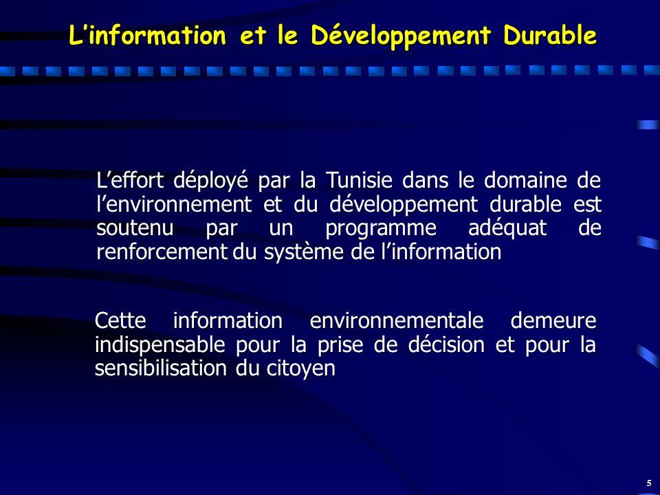 L'information et le Développement Durable