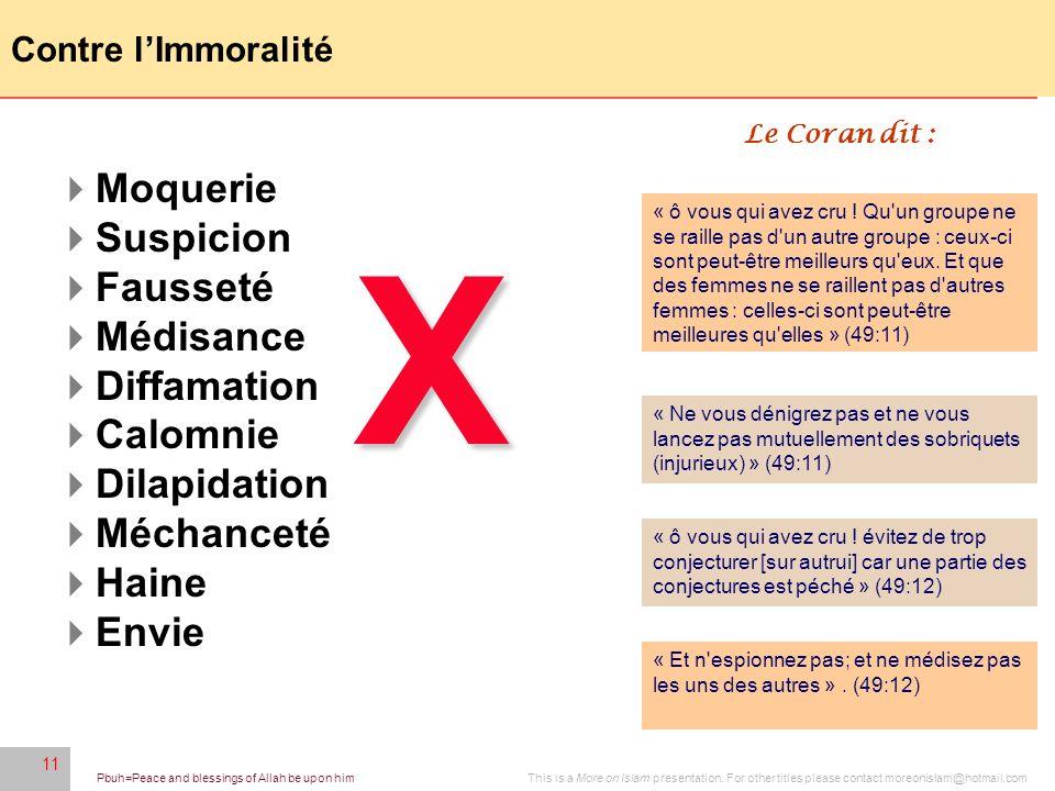 X Moquerie Suspicion Fausseté Médisance Diffamation Calomnie