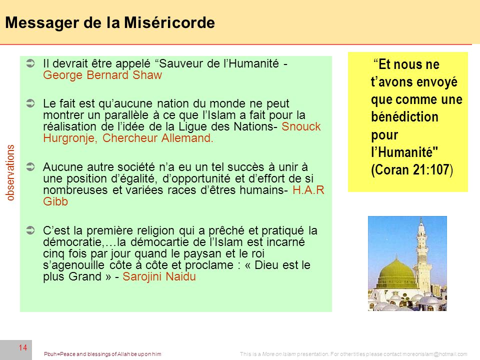 Messager de la Miséricorde