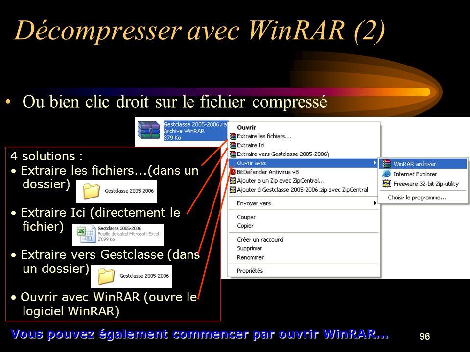 Décompresser avec WinRAR (2)