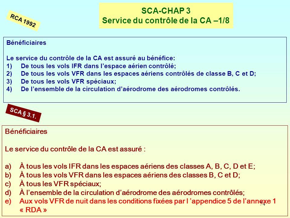 SCA-CHAP 3 Service du contrôle de la CA –1/8