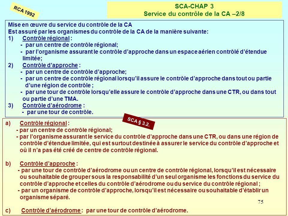 SCA-CHAP 3 Service du contrôle de la CA –2/8