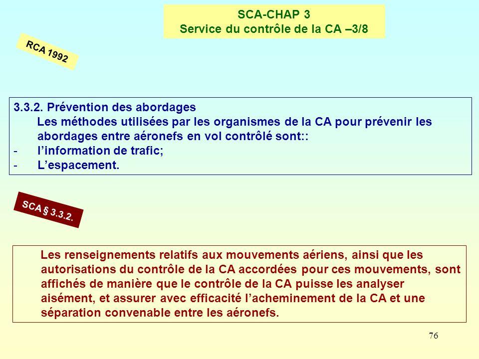 SCA-CHAP 3 Service du contrôle de la CA –3/8