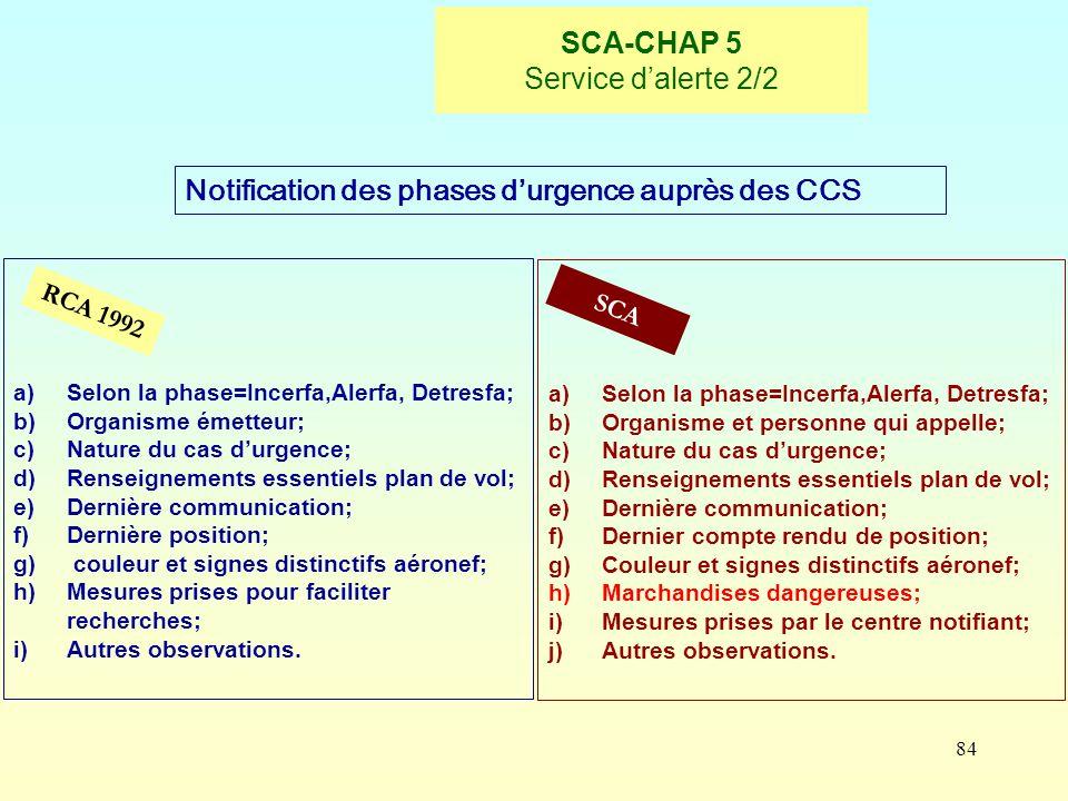 SCA-CHAP 5 Service d'alerte 2/2
