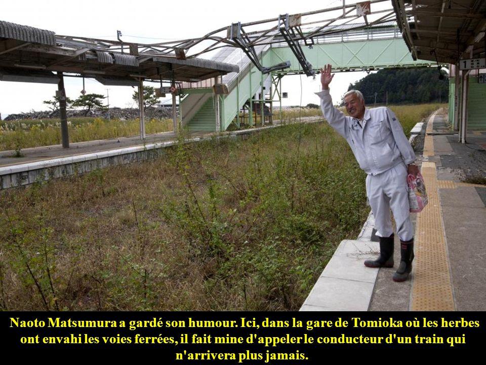 Naoto Matsumura a gardé son humour