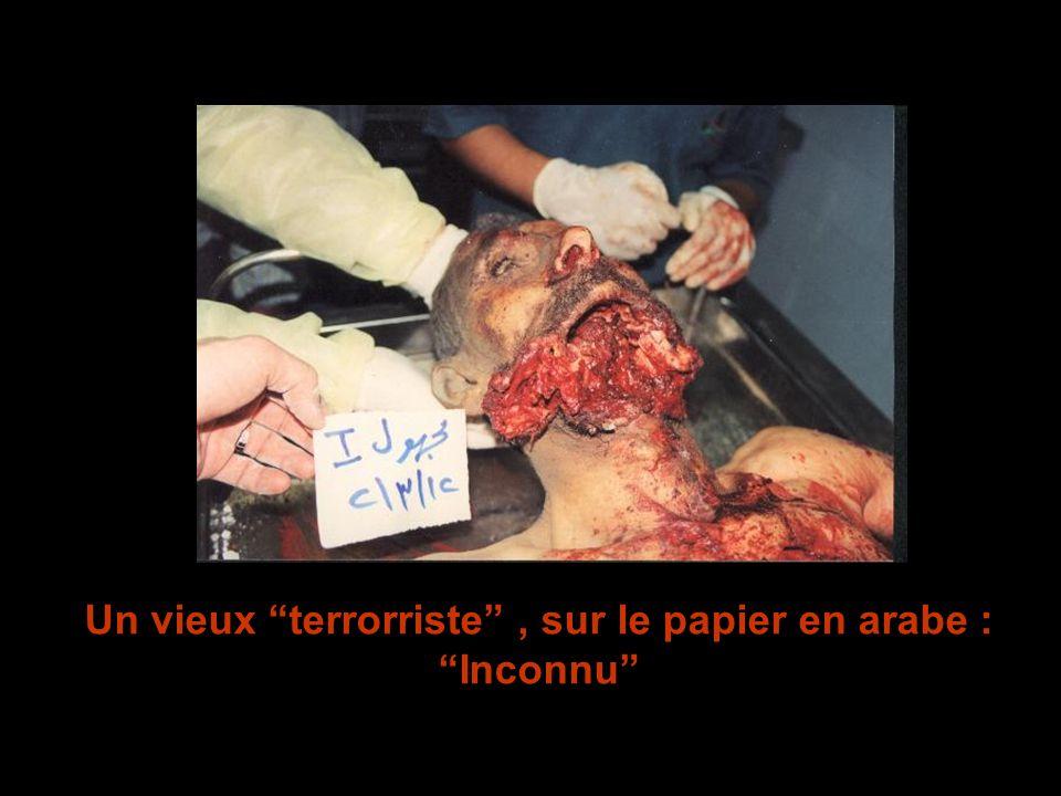 Un vieux terrorriste , sur le papier en arabe : Inconnu