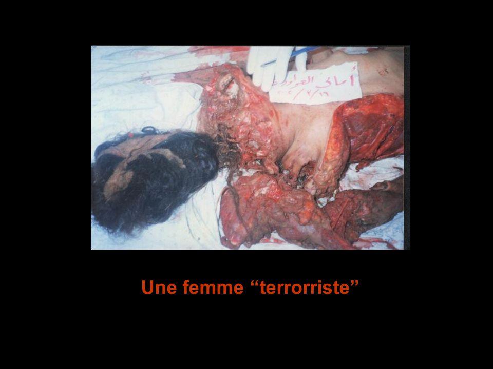Une femme terrorriste