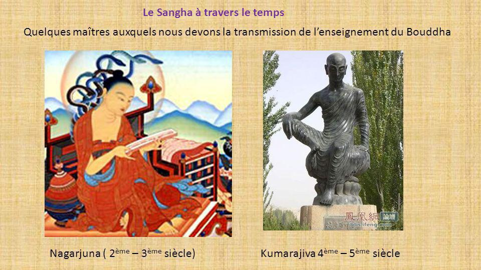Le Sangha à travers le temps
