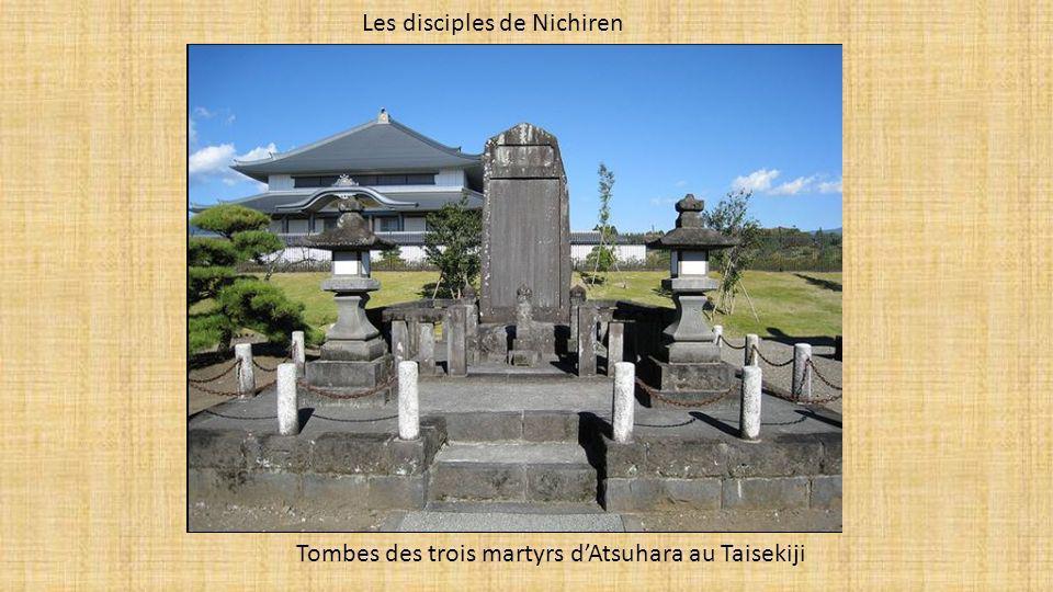Les disciples de Nichiren