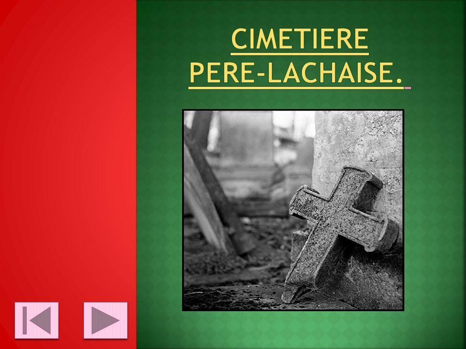 Cimetiere Pere-lachaise.