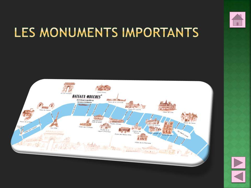 Les monuments importants
