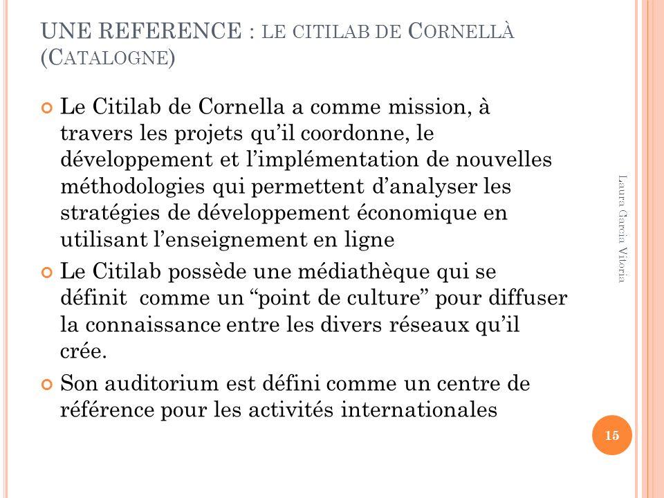 UNE REFERENCE : le citilab de Cornellà (Catalogne)