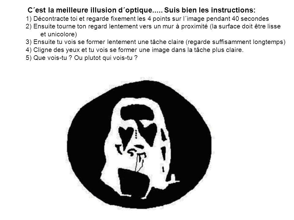 C´est la meilleure illusion d´optique