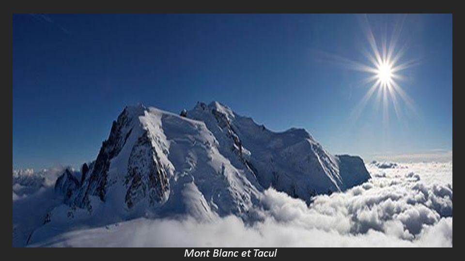 Mont Blanc et Tacul