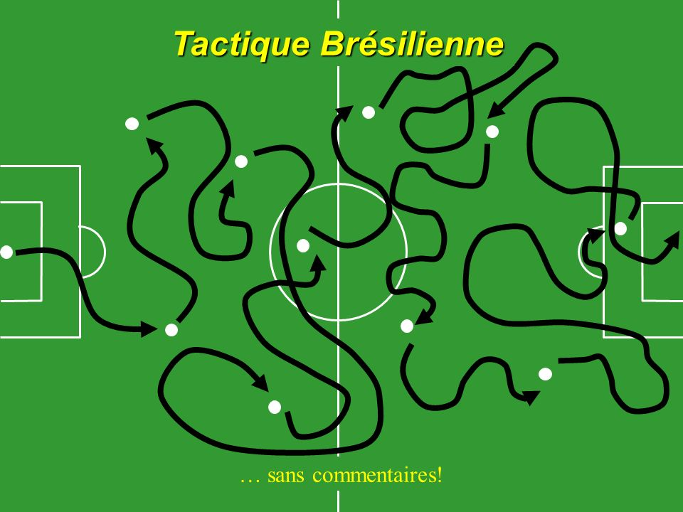 Tactique Brésilienne … sans commentaires!
